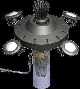 select series floating lake aerator assembly diagram