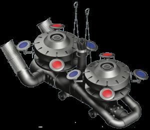 titan series floating lake fountain assembly diagram