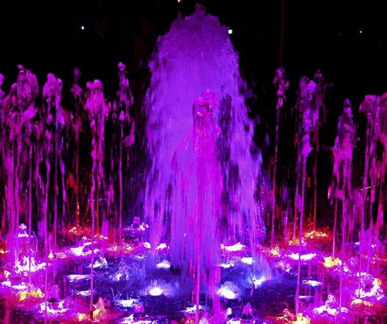 bespoke dancing fountain and aerator build