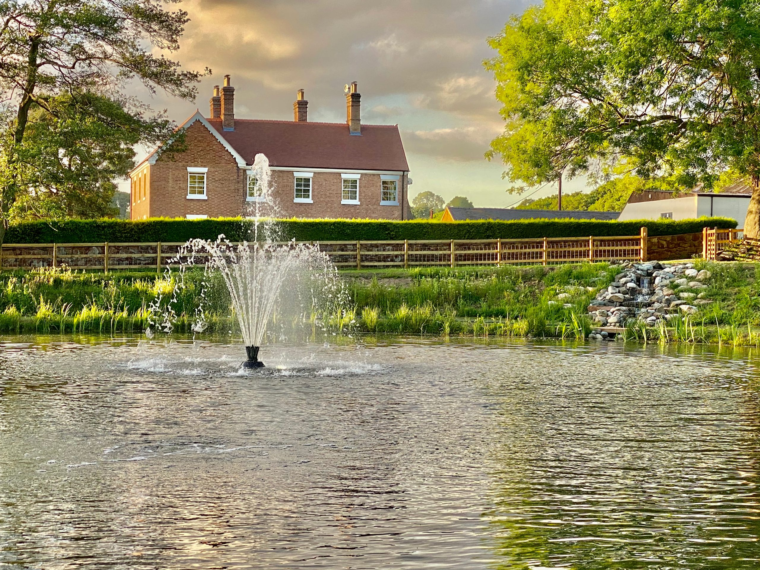 SS2 Delmar Aerating Fountain Hodnet Shropshire