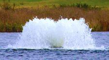 #alt_tagFountains and Aerators, decorative & bespoke lake & pond fountains, fishery & reservoir aeration systems, solar powered aerators, Heathland Fountains & Aerators